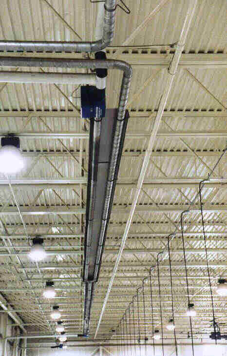 Reflect-O-Ray® EDS 3.5® system installed in manufacturing facility.